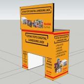 Mobile Photo Print bisnis konsep